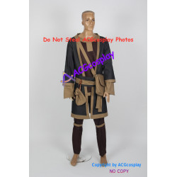 The Eldar Scrolls V Skyrim Mage Robe Cosplay Costume include functional bag