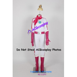 Mario Kart 8 Princess Peach Cosplay Costume include boots covers