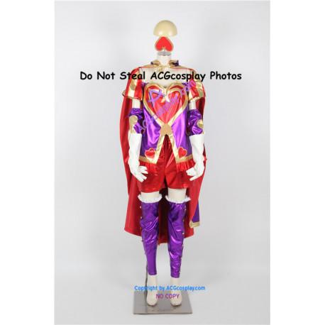 League of Legends Heartseeker Ashe cosplay costume include pvc prop emblems