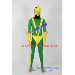 Marvel Comics Electro Cosplay Costume with mask prop
