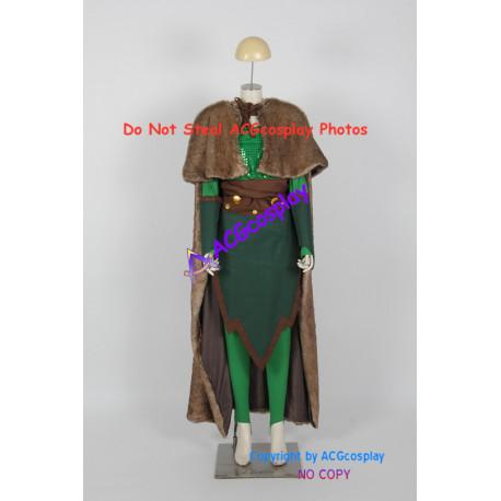 Marvel Comics The Avengers Female Loki Cosplay Costume