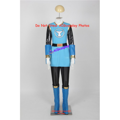 Power Rangers Ninja Storm Tori Hanson blue wind ranger cosplay costume