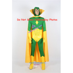 Marvel Comics Vision Victor Shade Cosplay Costume