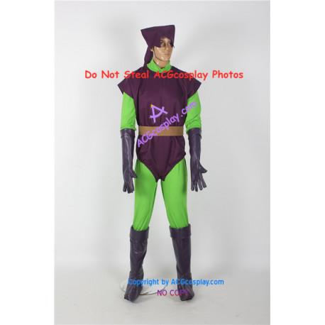 Marvel Comics Spider Man Green Goblin Cosplay Costume