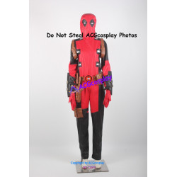 Marvel Comics Deadpool Cosplay Costume v.3 faux leather made cosplay
