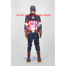 Marvel Comics the Avengers Captain America Cosplay Costume