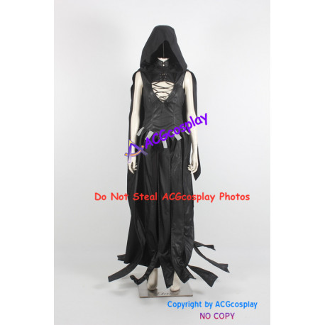 Marvel Comics Death Cosplay Costume faux leather made