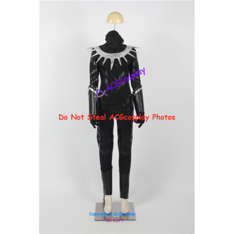 Marvel Comics Black Panther Cosplay Costume Version 02