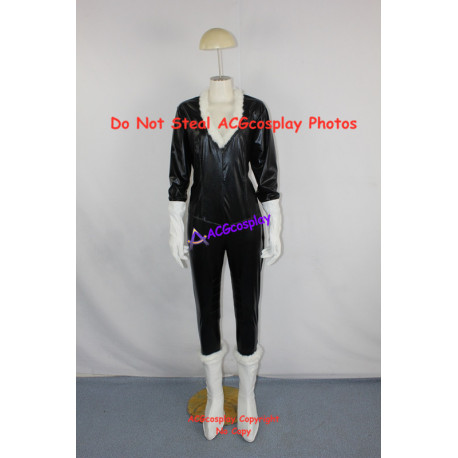 Marvel Comics Black Cat Cosplay Costume include boots covers