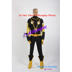 Marvel Comics Nova Sam Alexander Cosplay Costume include boots covers