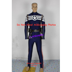 Marvel Comics Captain America Steve Rogers Cosplay Costume