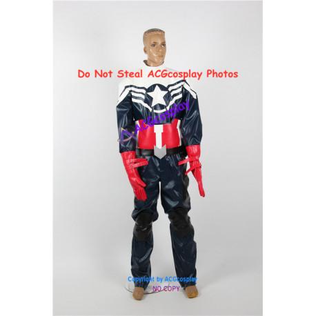 Marvel Comics Captain America Sam Wilson Cosplay Costume