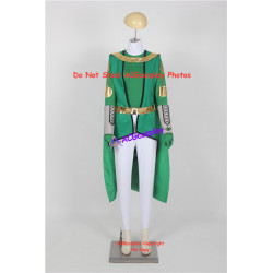 Ancient green set commission cosplay costume