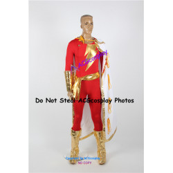 DC Comics Captain Marvel Shazam Robert Cosplay Costume