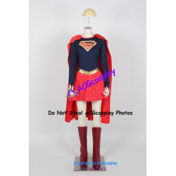 DC Comics Supergirl Cosplay Costumes include boots covers