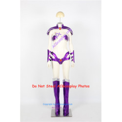 DC Comics Teen Titans Starfire Cosplay Costume include boots covers