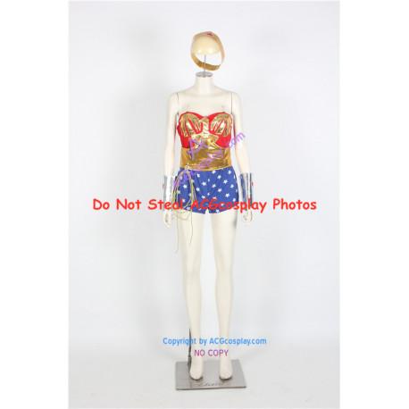 DC Comics Wonder Woman Diana Prince Cosplay Costume v.2