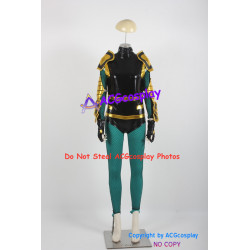 DC Comics DC Universe 52 Black Canary Cosplay Costume