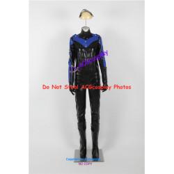DC Comics Batman Arkham City Female Nightwing Cosplay Costume