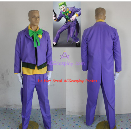 DC Comics Batman Dark Knight  Joker Cosplay Costume