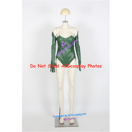 DC Comics Batman Poison Ivy Cosplay Costume faux leather made