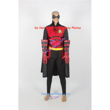 DC Comics Batman Red Robin Cosplay Costume