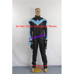 DC Comic Batman Nightwing Cosplay Costume
