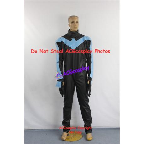 DC Comic Batman Nightwing Cosplay Costume
