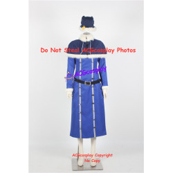 Fairy Tail Juvia Lockser Cosplay Costume blue version