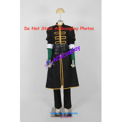 Gin Tama Gintama Saitou Shimaru Cosplay Costume include fabric mask