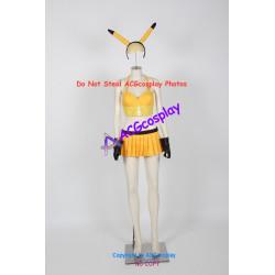 Pokemon Pikachu costume cosplay costume