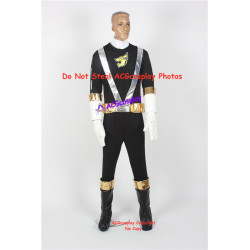 Engine Sentai Go-Onger Gunpei Go-On Black Cosplay Costume