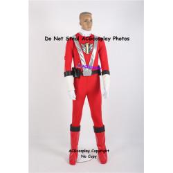 Engine Sentai Go-Onger Sosuke Go-On Red Cosplay Costume