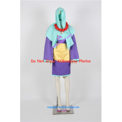 Okami Rao Cosplay Costume include necklace prop