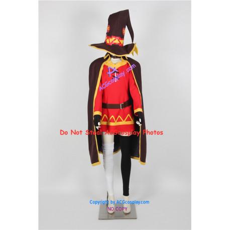 Konosuba Cosplay Megumin Cosplay Costume include big hat