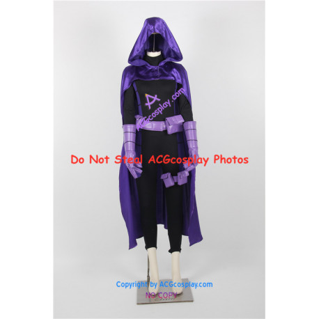 DC Comics New 52 Stephanie Brown Spoiler Cosplay Costume incl boots covers