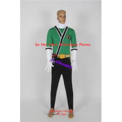 Samurai Sentai Shinkenger Cosplay Shinken Green Cosplay Costume