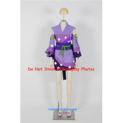 Fairy Tail Erza Scarlet Cosplay Costume pink kimono version