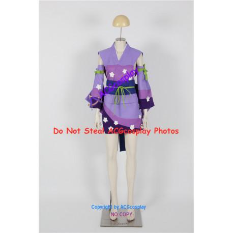 Fairy Tail Erza Scarlet Cosplay Costume pink kimono version