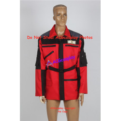 Power Rangers Lightspeed Rescue Carter Grayson Jacket Cosplay Costume V.2