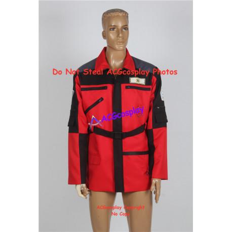 Power Rangers Lightspeed Rescue Carter Grayson Jacket Cosplay Costume V.2