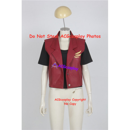 Resident Evil Claire Redfield Jacket Cosplay Costume faux leather made