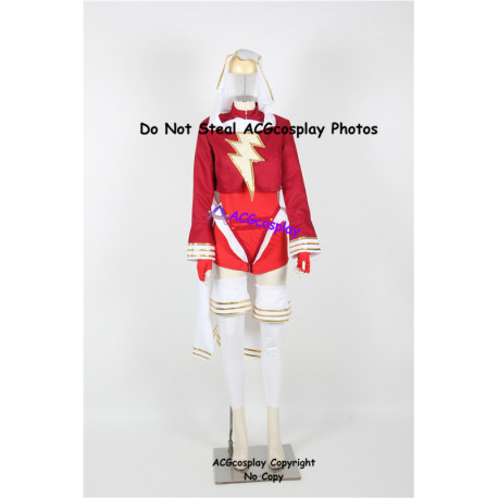DC Comics Mary Marvel Cosplay Costume
