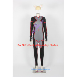 Guilty Crown Tsugumi cosplay costume with boots covers and headwear