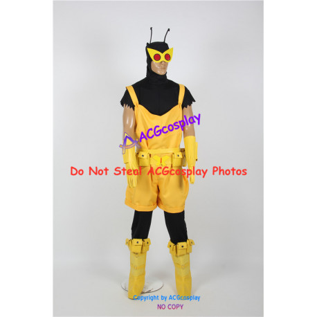 The Venture Bros Henchman 21 Cosplay Costume include mask prop