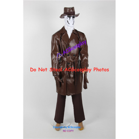 DC Comics The Watchmen Rorschach Cosplay Costume