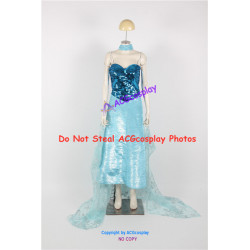Disney Frozen Elsa Cosplay Costume princess cosplay Version 09