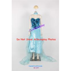 Disney Frozen Elsa Cosplay Costume Version 09