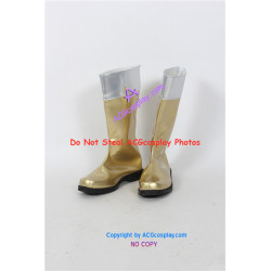 Mighty Morphin Power Rangers golden buster cosplay boots cosplay shoes