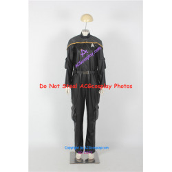 Star Trek Odyssey Operations Uniform Cosplay Costume faux leather costume